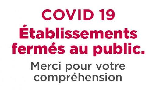 [ Fermeture ] #COVID19